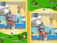 Tom und Jerry-finde die Fehler